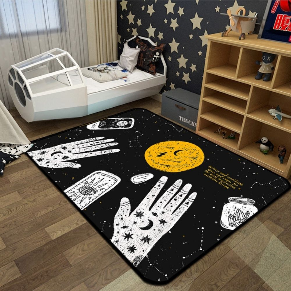 A Gothic Rug Of Magic And Witchcraft In 2020 Home Decor Rugs On