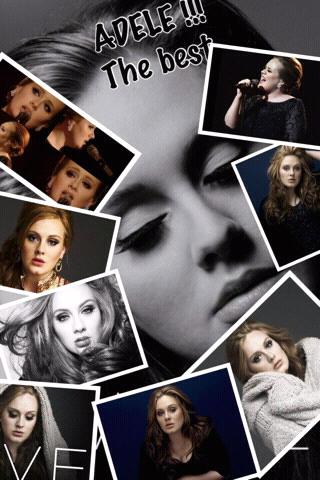adele,my favorite singer *-*