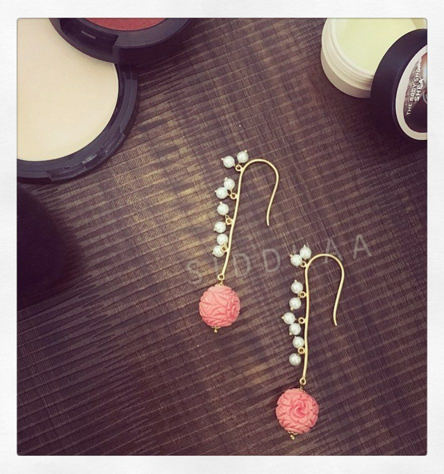 Spring Blush danglers... All time solution for