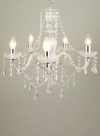 Bryony 5 Light Chandelier Besters Home Lighting Furniture Bhs