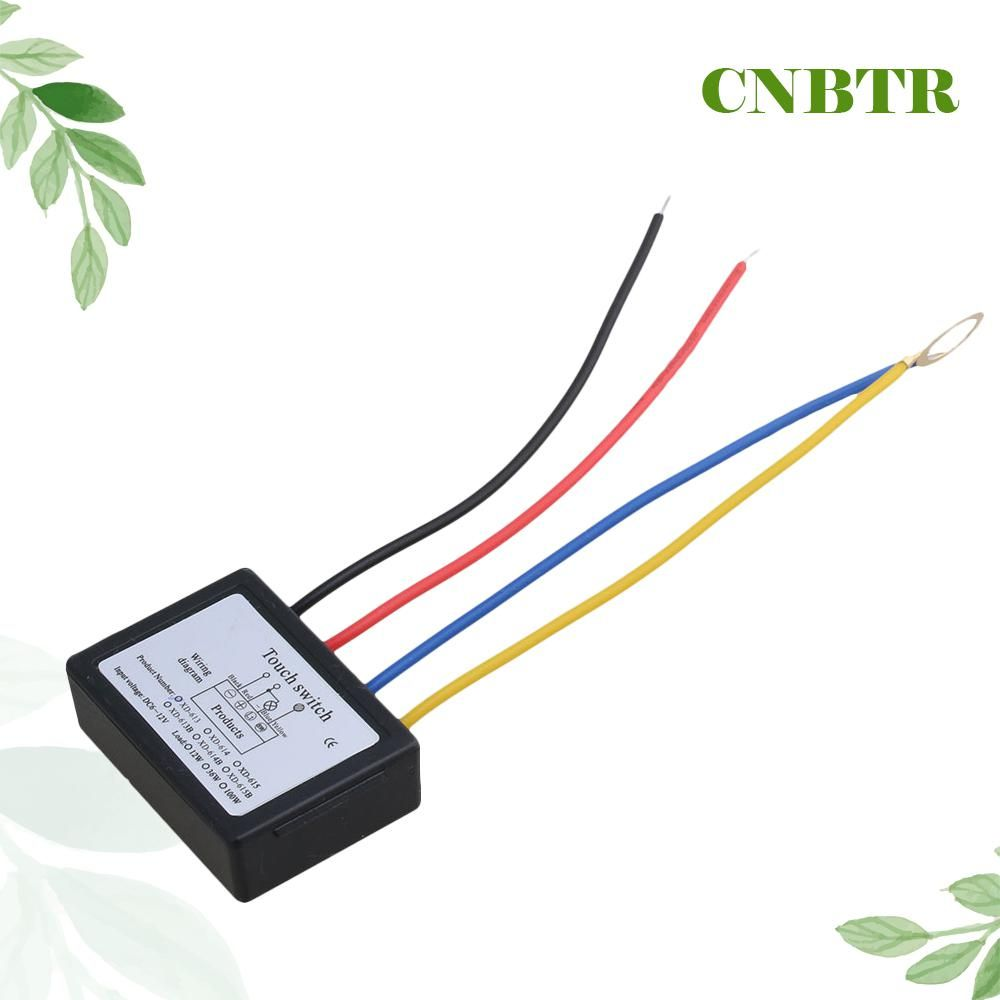 Terrific Cnbtr Xd 613 On Off Touch Switch 6 12V Dc For Led Lamp Diy Wiring Cloud Tobiqorsaluggs Outletorg
