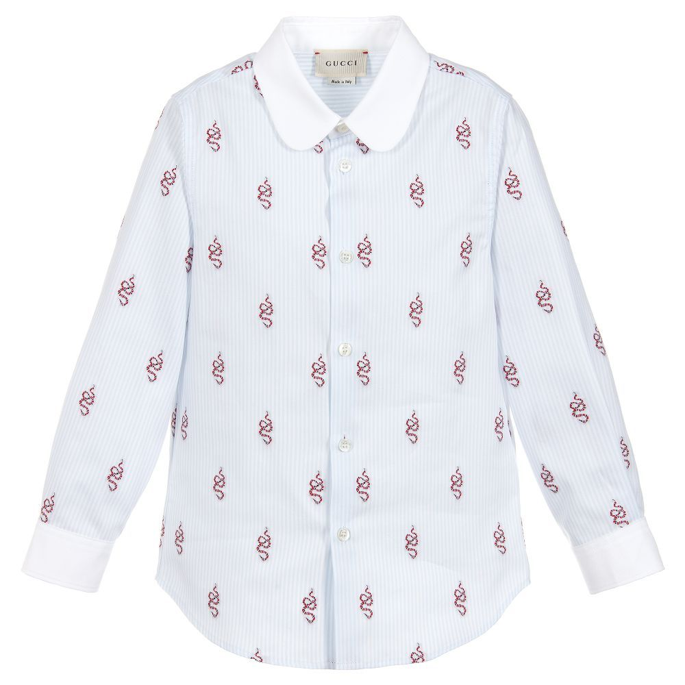 2b2efd9872b Boys smart shirt by luxury brand Gucci