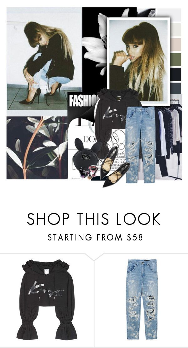 """Untitled #291"" by janjanzira ❤ liked on Polyvore featuring Kenzo, Disney and Avon"