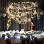 Birthday Balloon Kit BirthdayWedding Decorations Baby Shower Decorations Birthday Party Balloons Hen Party Decorations Party Backdrop  Womens fashion