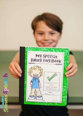 Brag Tags For Speech Therapy images