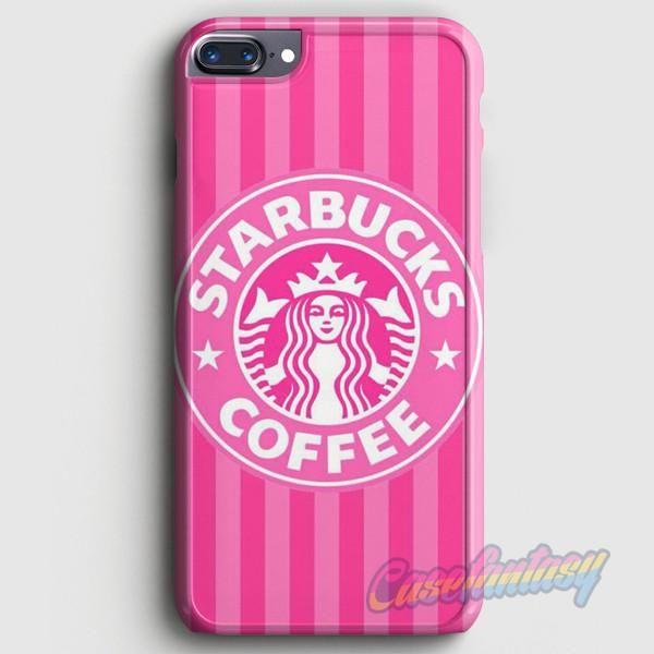 Starbucks Wallpaper Pink iPhone 7 Plus Case casefantasy