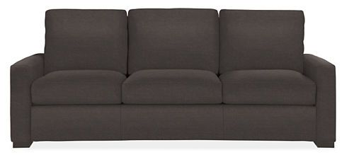 R Pierce 2299 Material Delamont Color Charcoal Detail 100 Polyester Micro Velvet Seat Cushion Wred Foam Foot Finish Ebony Stained
