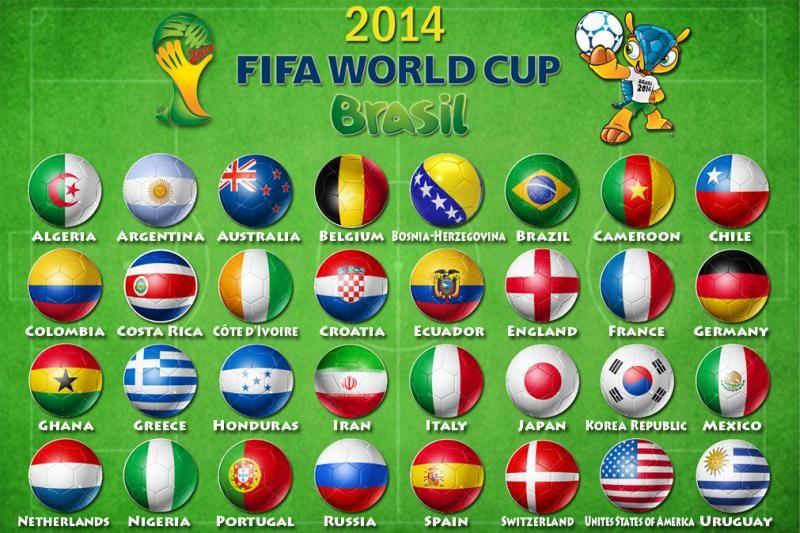 Fifa Word Cup 2014 Schedule Fixtures Points Goals Results Fifa 2014 World Cup Club World Cup World Cup