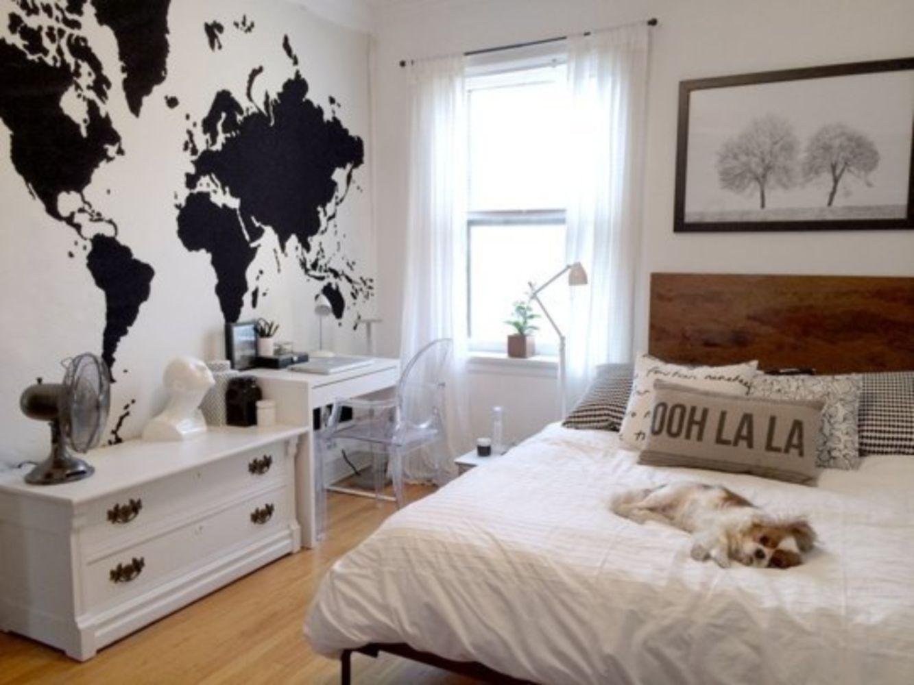 37 Minimalist Small Bedroom With Monochromatic 37
