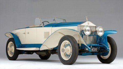 1925 Rolls Royce 10ex Concept Car Concept Cars Rolls Royce Classic Cars