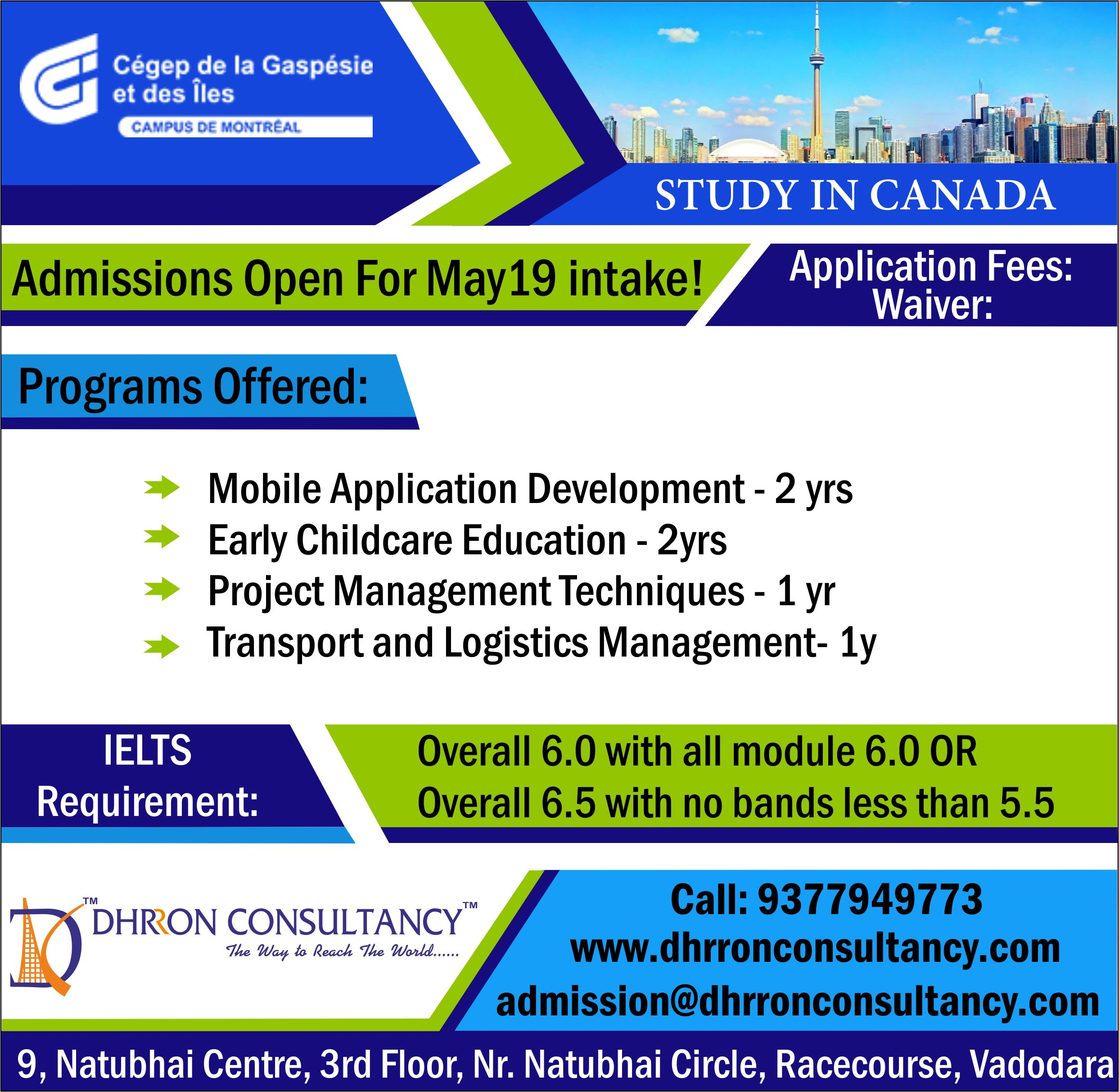 Do you want to study in Canada?? Apply In Cégep de la