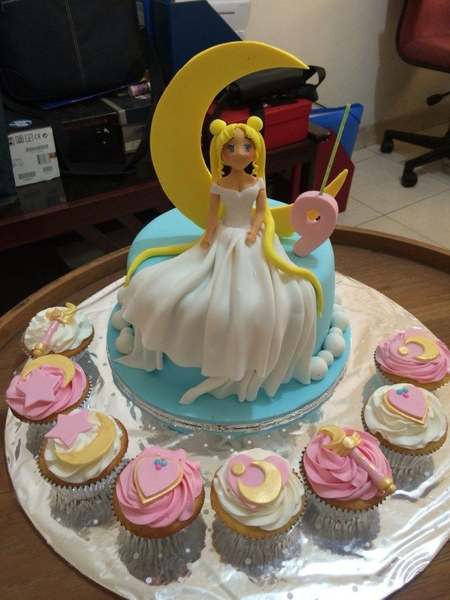 20 Brilliant Image Of Ms Birthday Cakes Sailor Moon Cakes