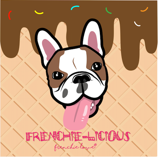 Pin by Frenchie Love on French Bulldog Illustrations
