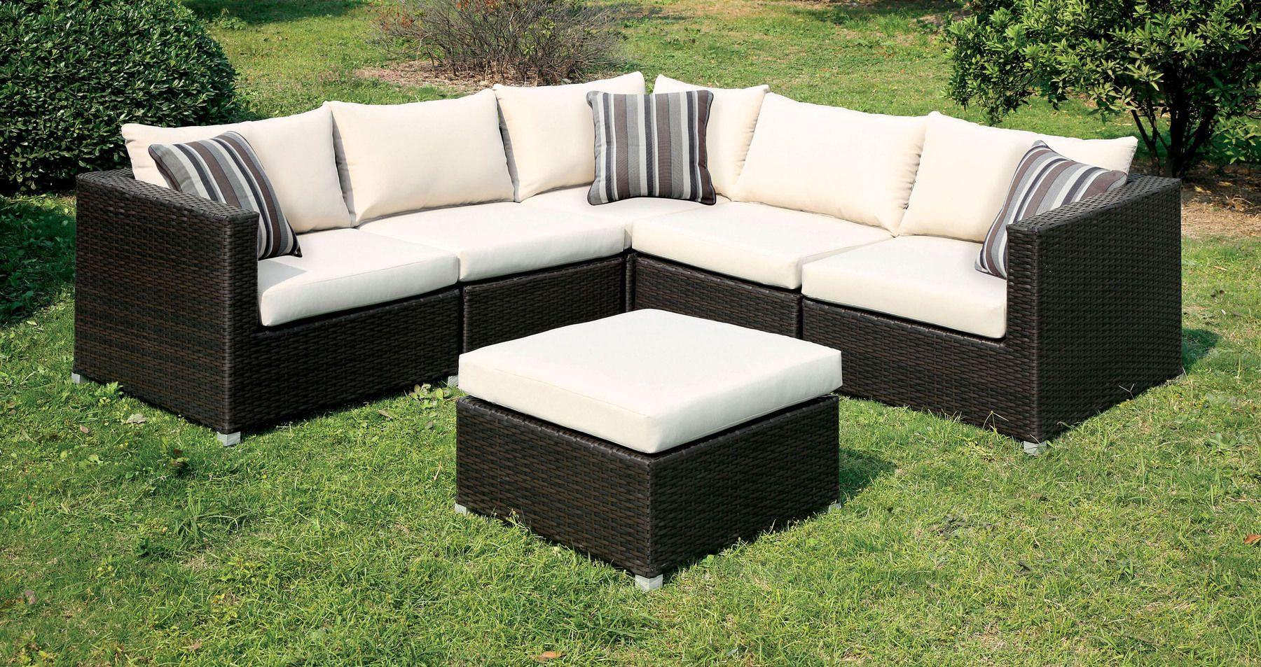 Abion Ivory Set In 2020 Outdoor Furniture Sets Outdoor Sofa