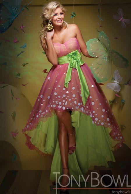 Pink And Green Dress | rucetk