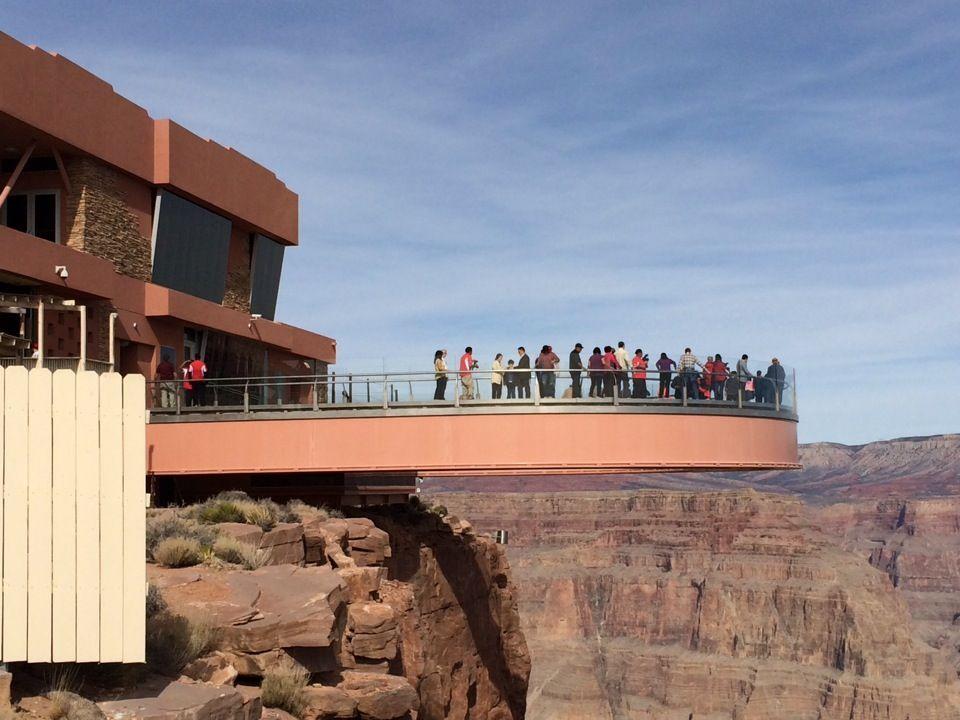 Grand Canyon Sky Walk Nel Meadview Az Very Lost Storyteller On