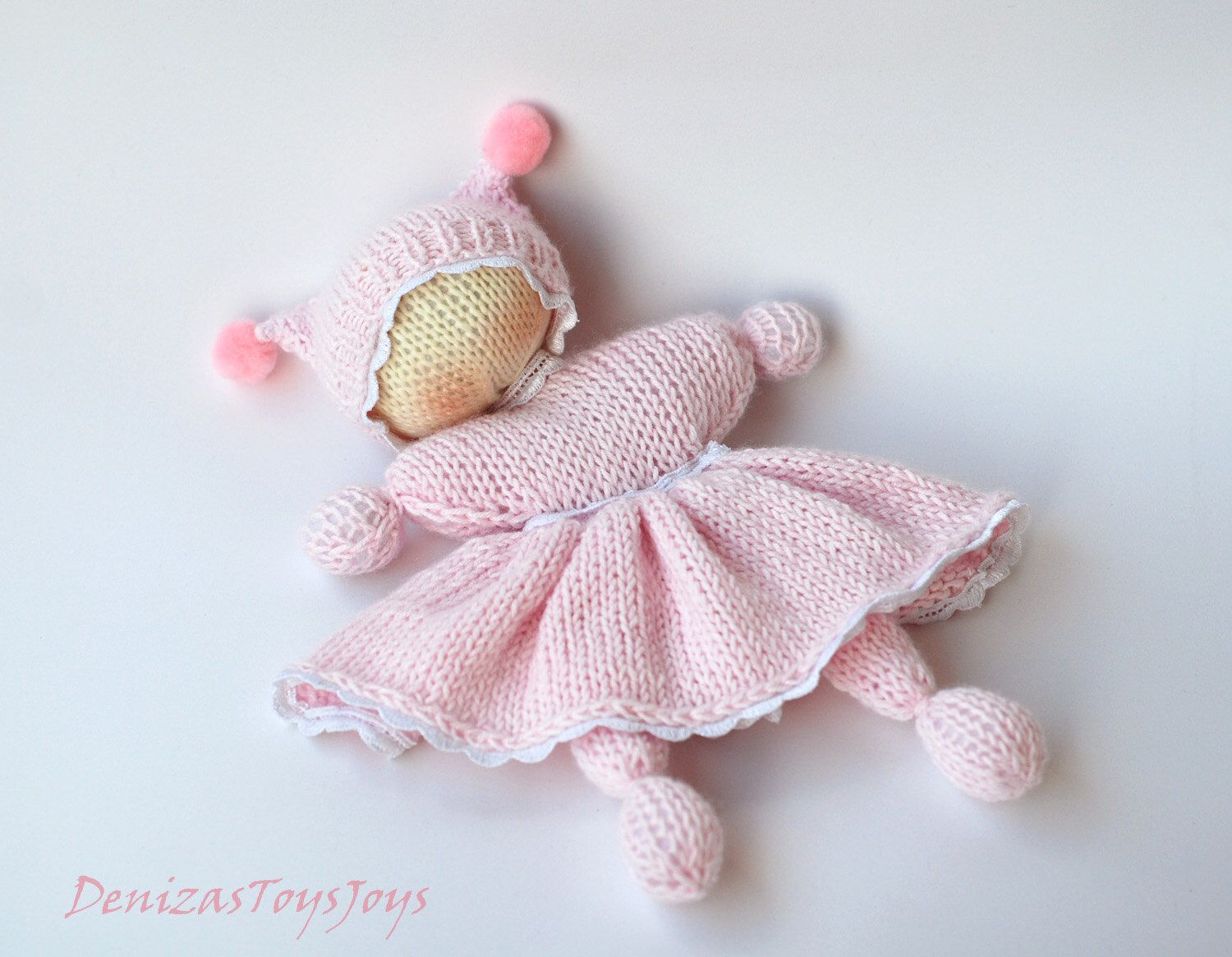 Pink waldorf knitted girl doll for small babies pdf knitting pink waldorf knitted girl doll for small babies pdf knitting pattern by deniza17 on bankloansurffo Images