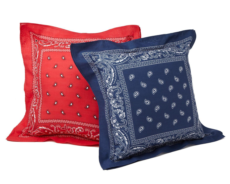 Bandana Pillows   Craft Projects   Pinterest   Bandanas ...