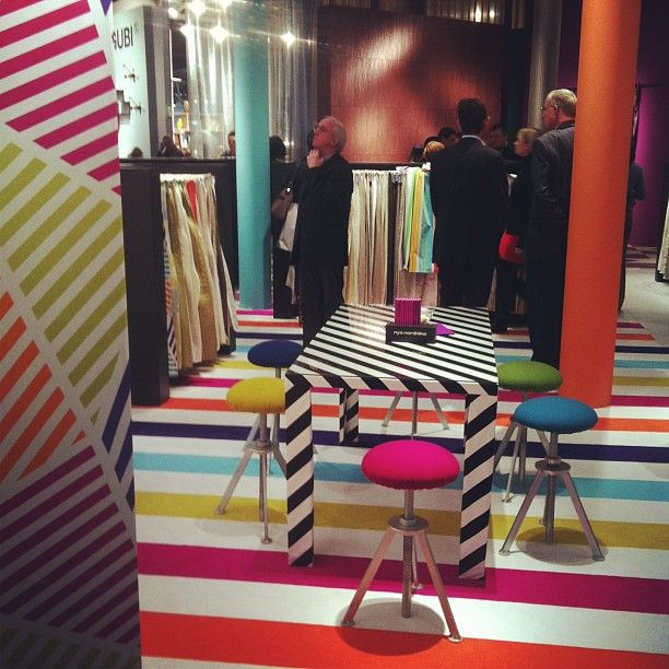 How about some colour? Spotted at Nya Nordiska at @imm_cologne by Igor Josif.