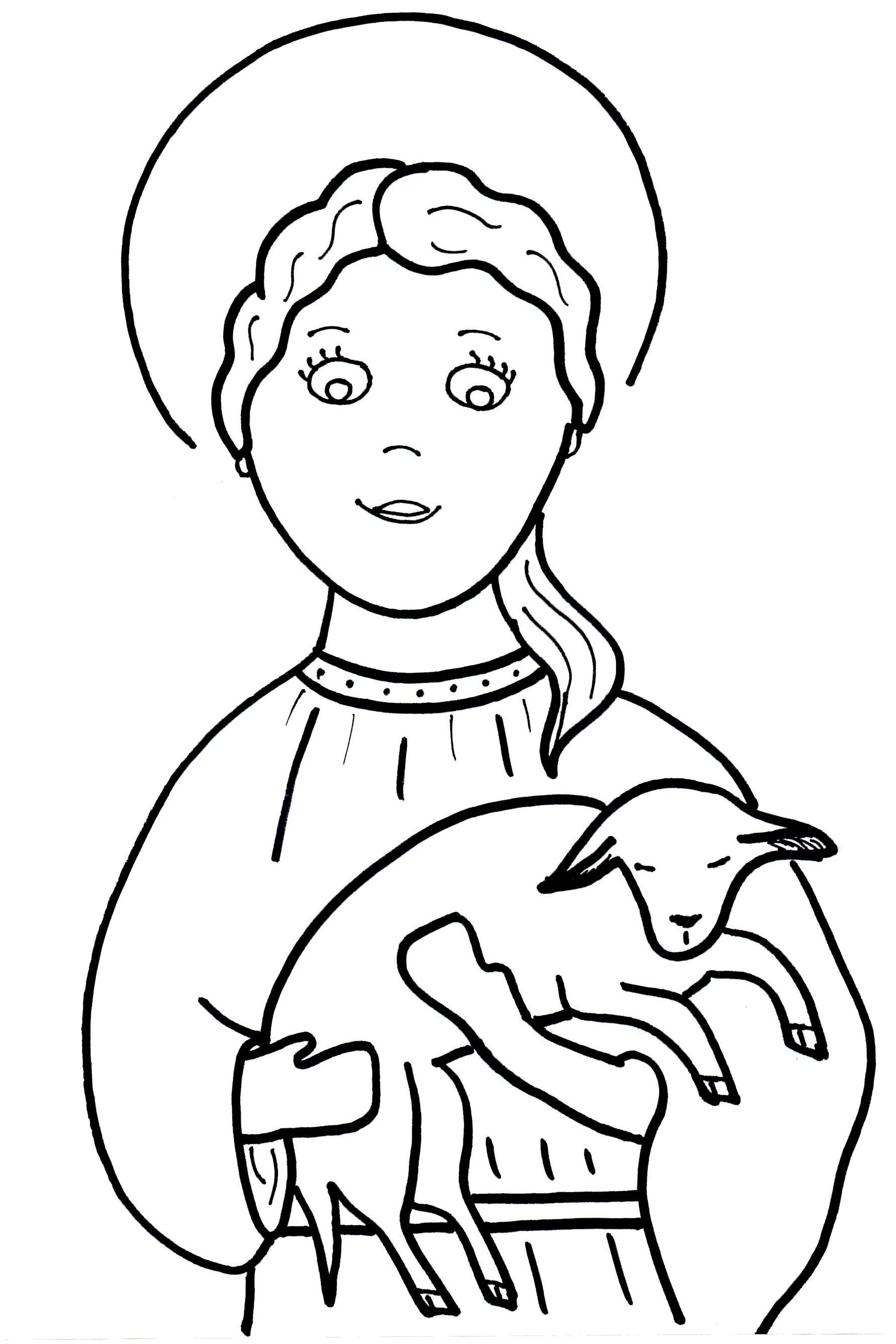 obrazki do kolorowania Katecheza według Natana Vault