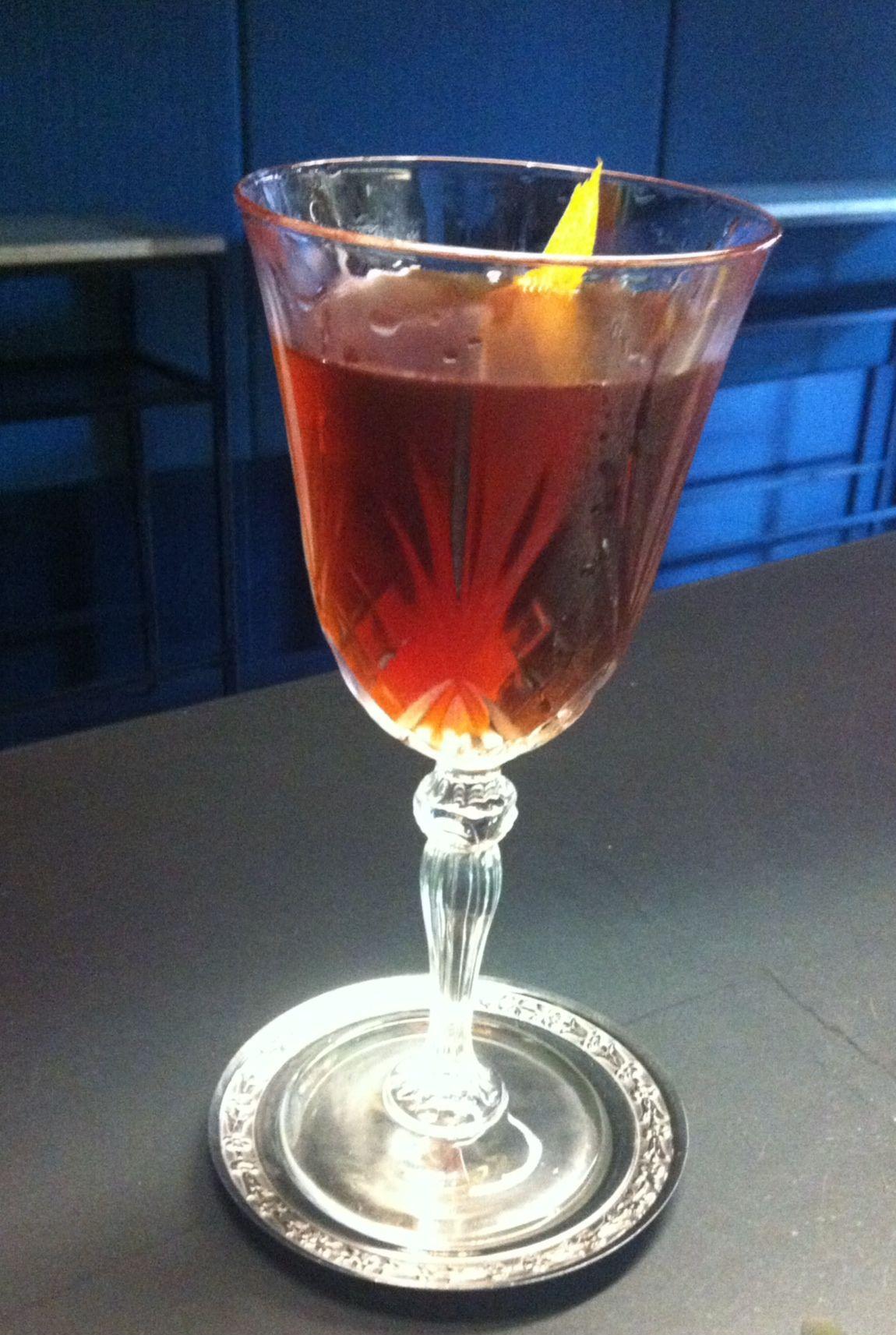101 Best New Cocktails Negroni Chinato By Matteo Schianchi Prospero Reggio Emilia Italy