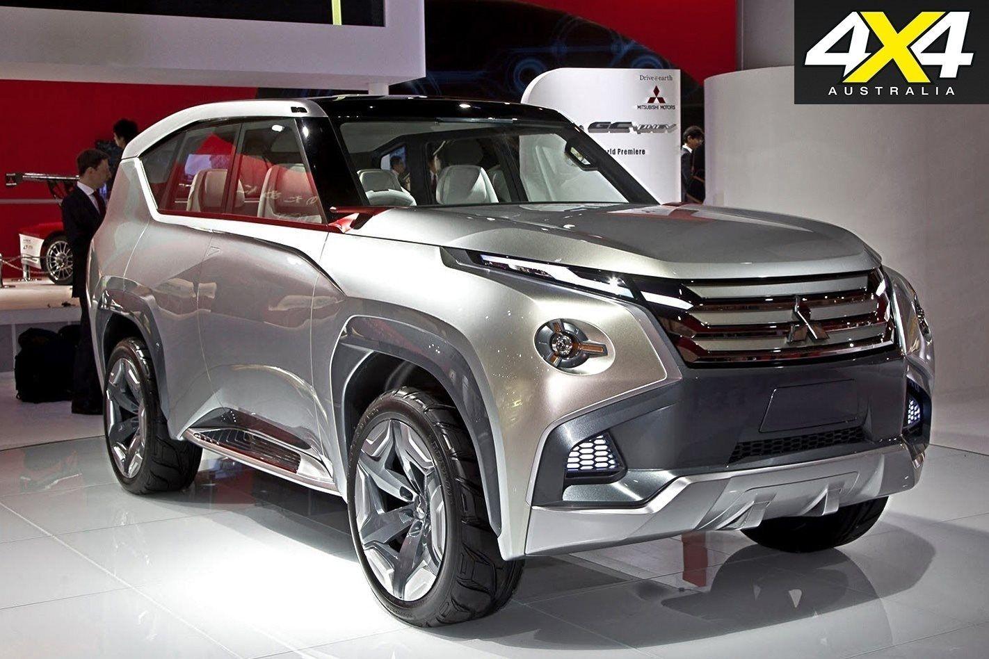 All Mitsubishi Pajero 2019 Exterior Mitsubishi, New suv