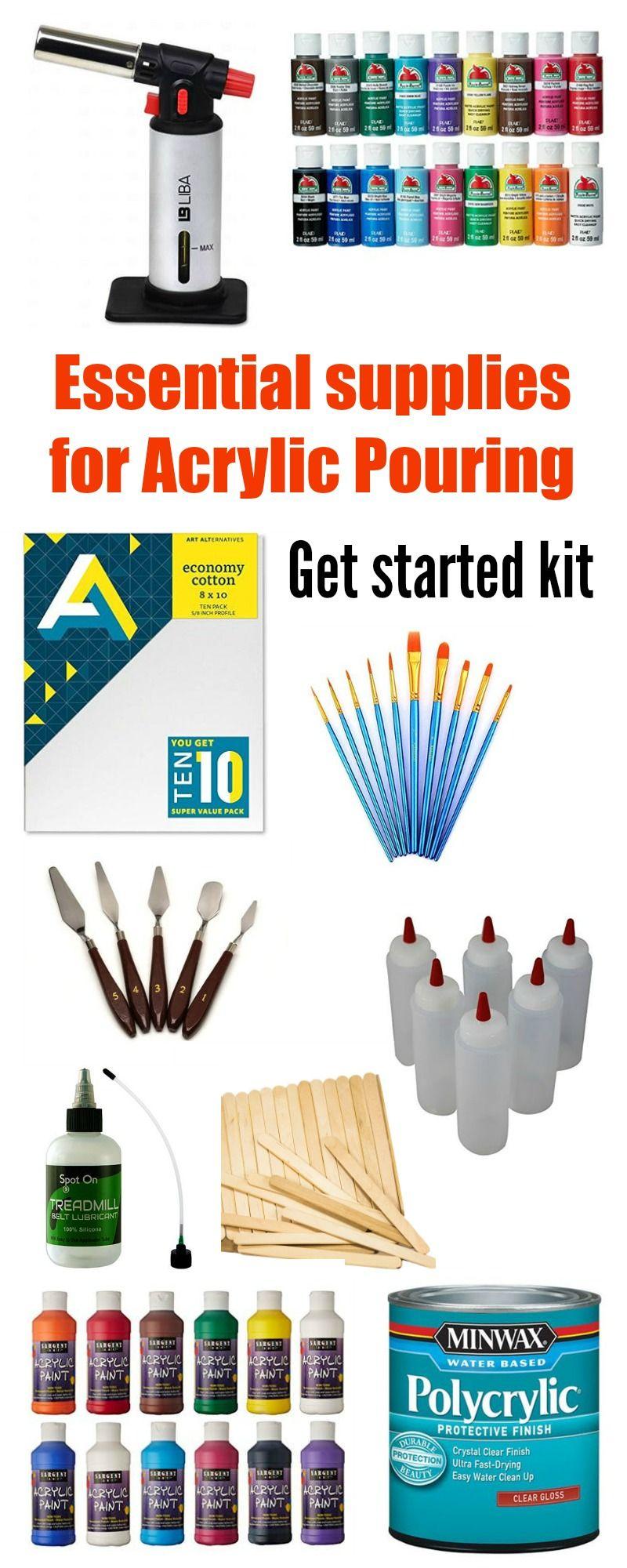 Acrylic Pouring Acrylicpouring Acrylic Pouring Art