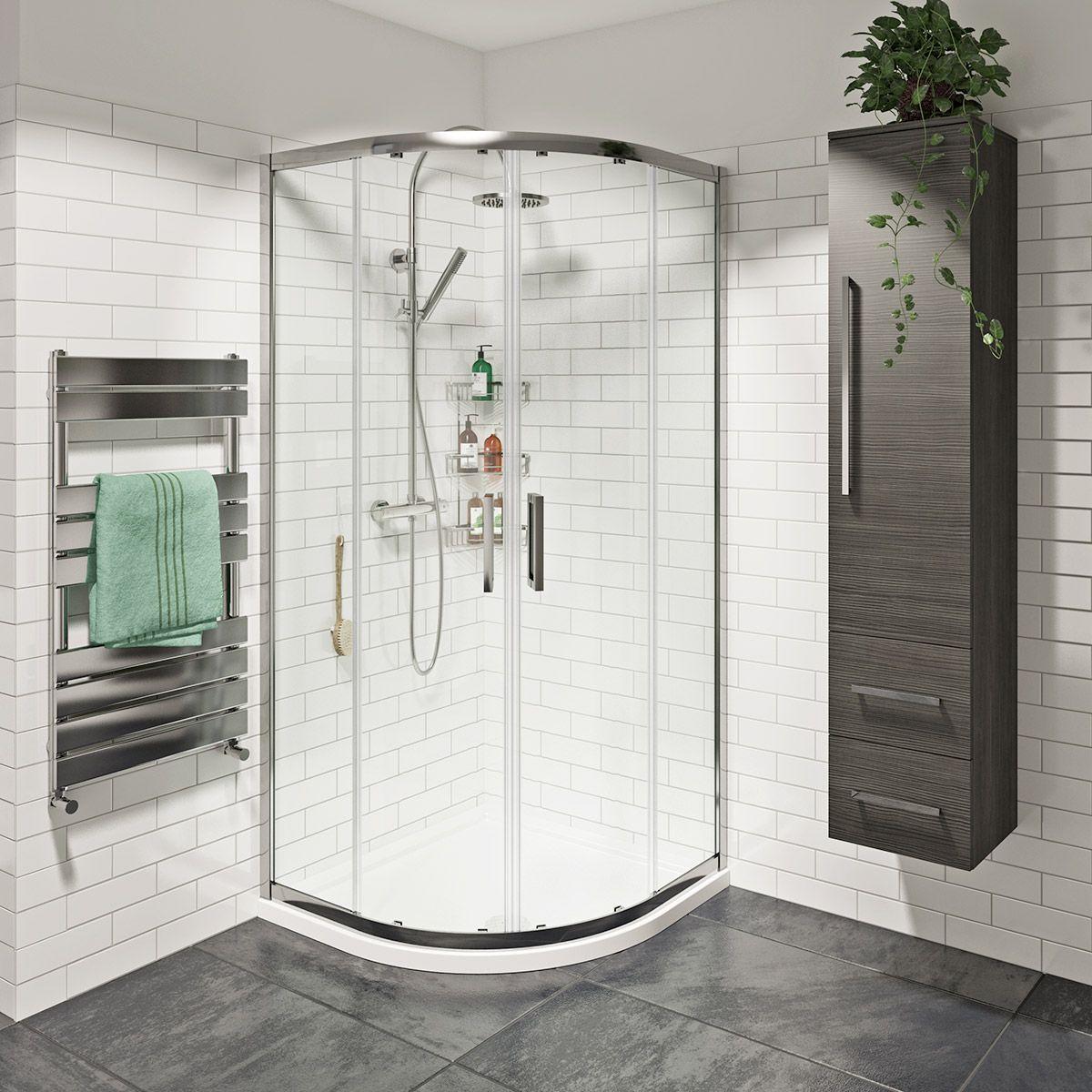 Mode Tate 8mm easy clean sliding quadrant shower enclosure ...