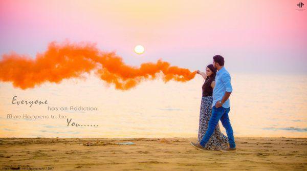 Beach Side Pre Wedding Shoot Hp S Photography Https Www Wishnwed