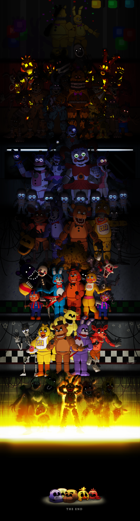 Five Nights at Freddy's by DoodleDox | fnaf and tf2 | Five nights at