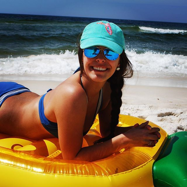 I sea you bein salty//Yes sunshine you can #ShopTantrum to get one of these Lilly Pulitzer FL state hats with a monogram on the back☀️