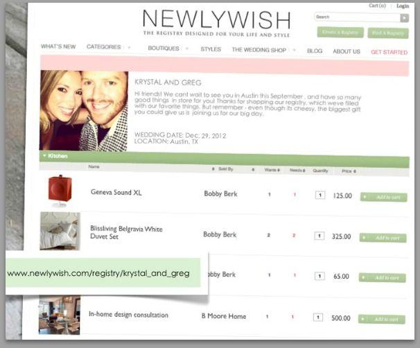 Online Wedding Registry Focuses On Local Stores Online Wedding Registry Online Wedding Gifts Wedding Registry