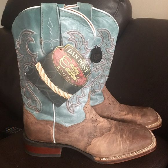 45f9558145f NWT! Dan Post San Michelle Cowboy Boots Brand new never worn! Made ...
