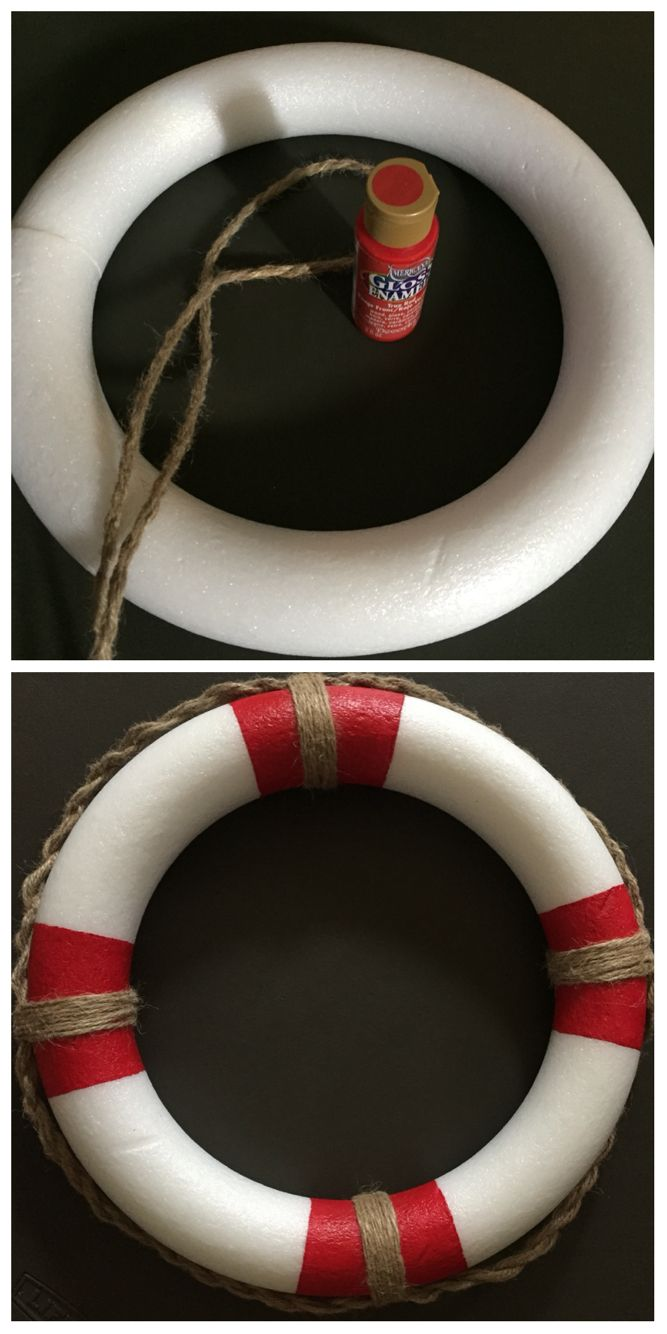 boat lifesaver ring craft my personal crafts pinterest ring