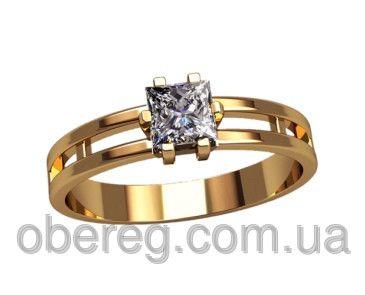 Детское Золотое кольцо с камнем   продажа, цена в Харькове. золотые кольца  от