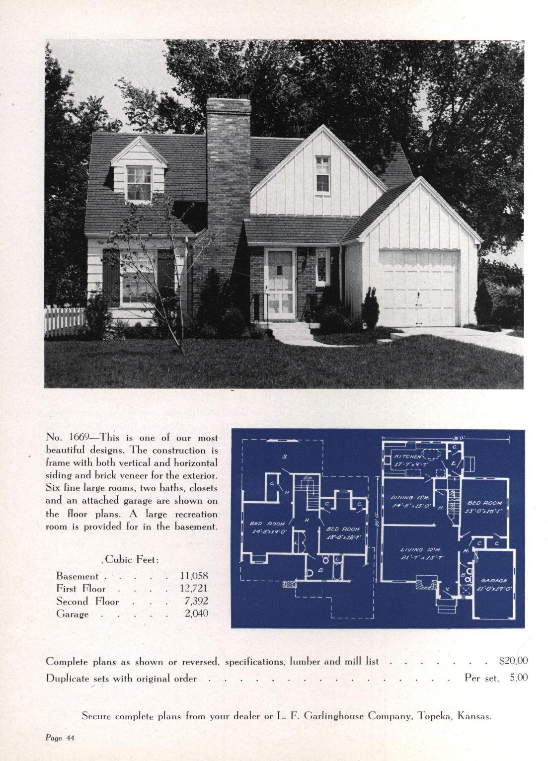 Artistic Homes 6th Ed In 2020 Vintage House Plans Minecraft House Plans Brick Veneer