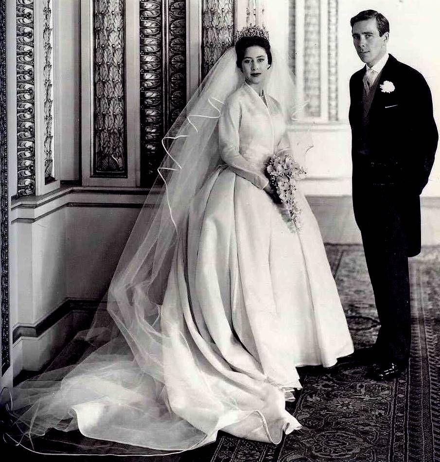 Princess Margaret, Countess of Snowdon, marries Antony