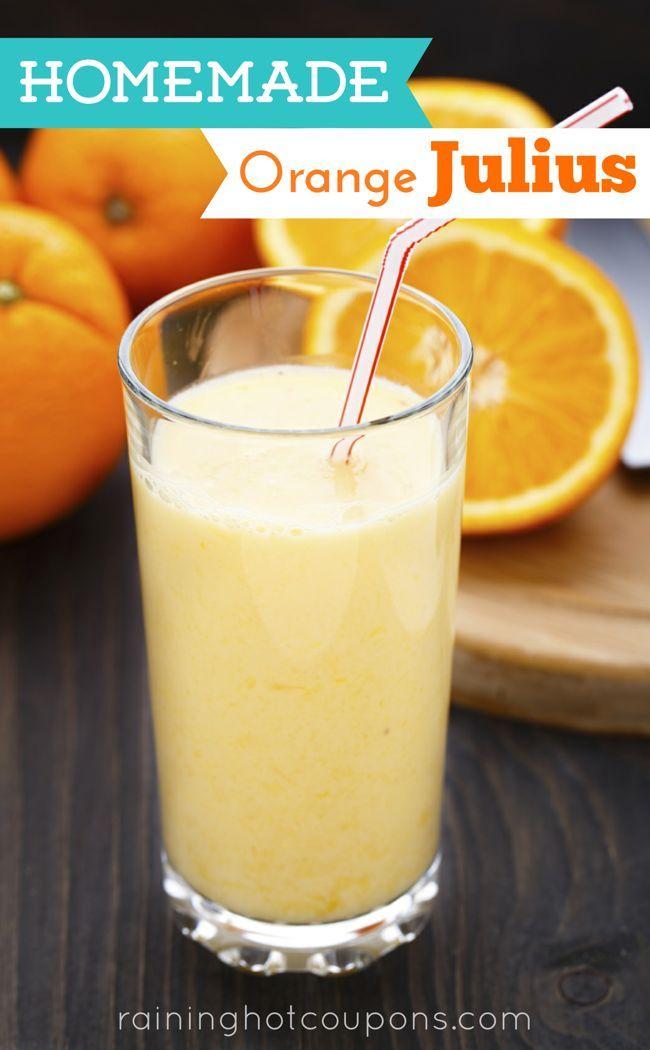 Delicious Homemade Orange Julius!