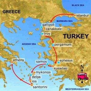 Constantinople was one of the worlds great trading cities and the