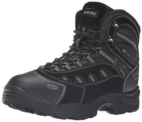 Zapatos negros HI-TEC Altitude infantiles BusSRLH