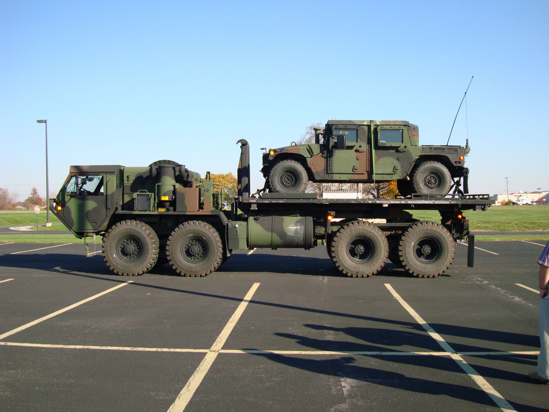 HEMTT hauling a HMMWV. | Military Wheeled Vehicles - US - Post ...