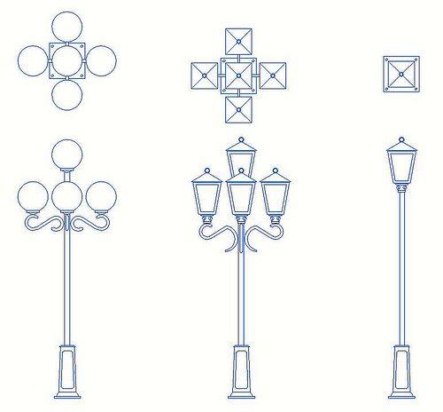 Resultado de imagen para poste de luz DIBUJO  IDEAS PARA BULLET