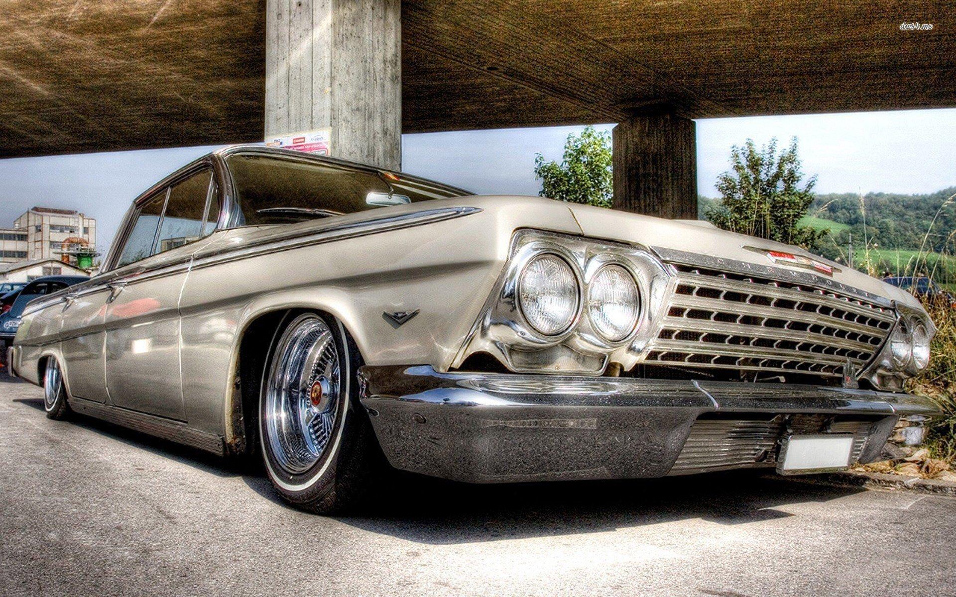 chevrolet impala 63 обои