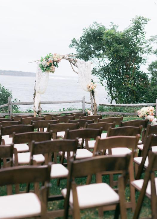 Steep Hill Beach Wedding Ceremony At The Crane Estate Ipswich Ma