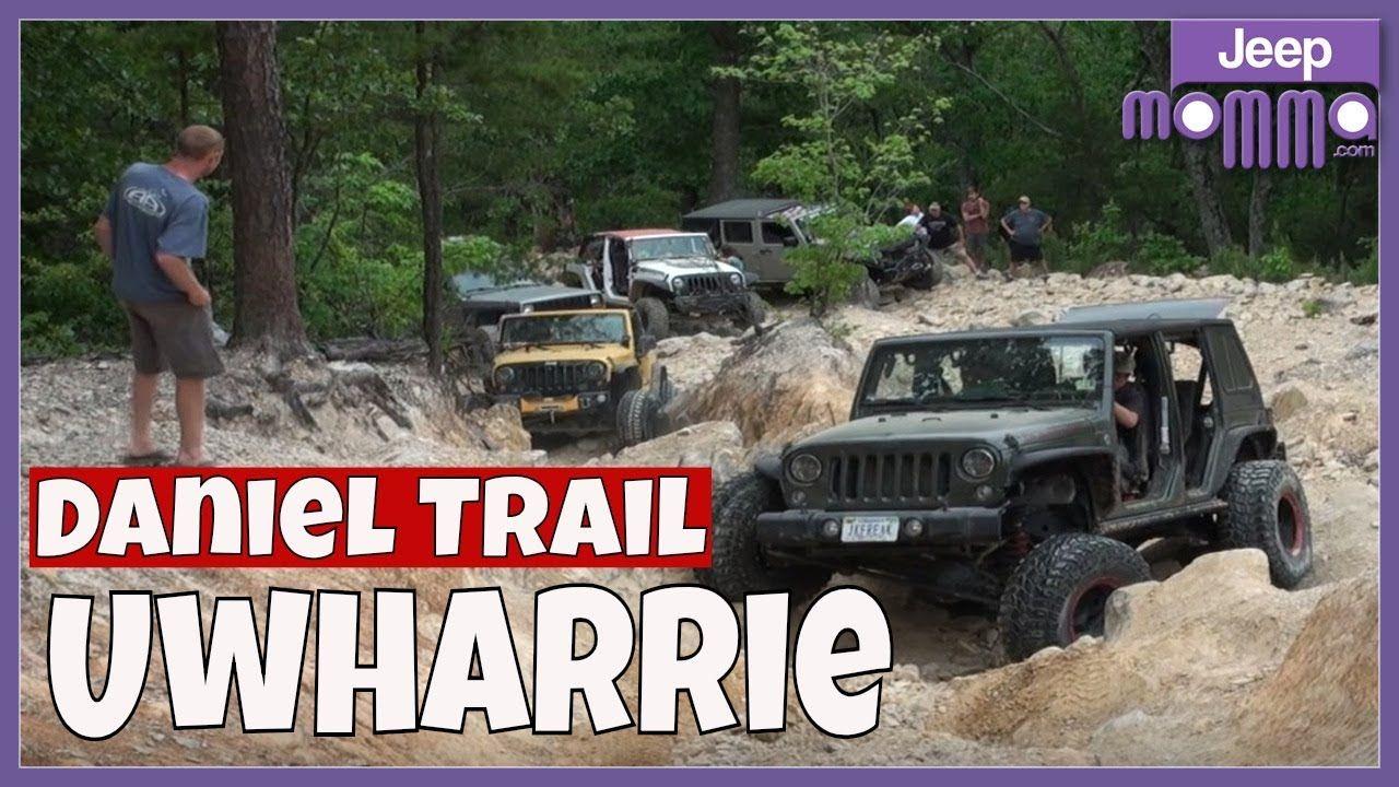 Uwharrie Daniel Trail Hill Climb Jeep Wrangler Cherokee Off Road Hill Climb Jeep Jeep Wrangler