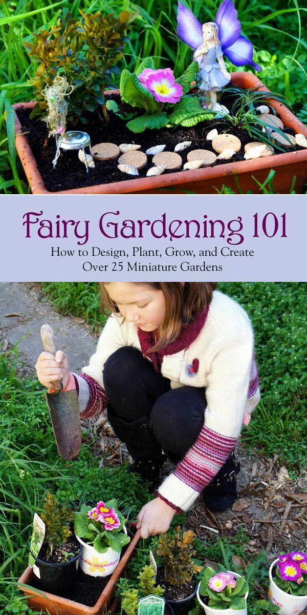 Charmant Fairy Gardening 101: How To Design, Plant, Grow, And Create Over 25  Miniature Gardens By Fiona McDonald Provides You With All The Information  Necessary To ...