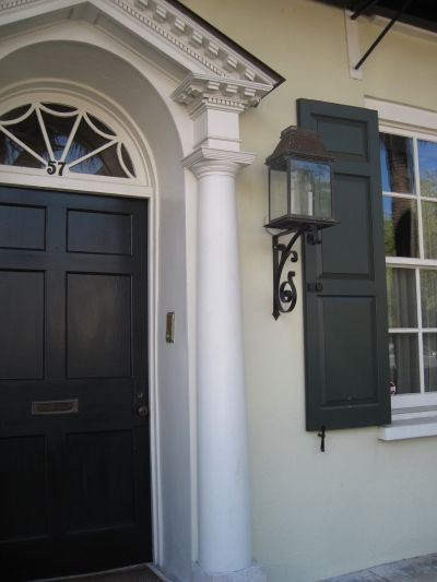 Color Inspiration From Charleston Green Shutters Green Paint Colors Exterior Paint Schemes
