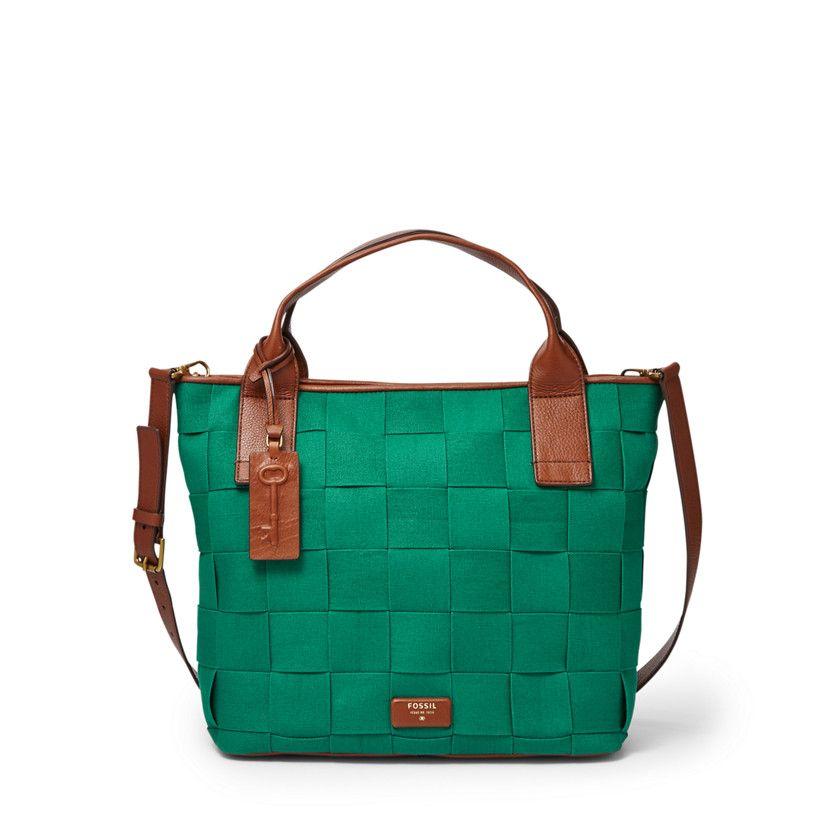 Fossil Emerson Satchel Zb6540 New This Season Leather Handbags