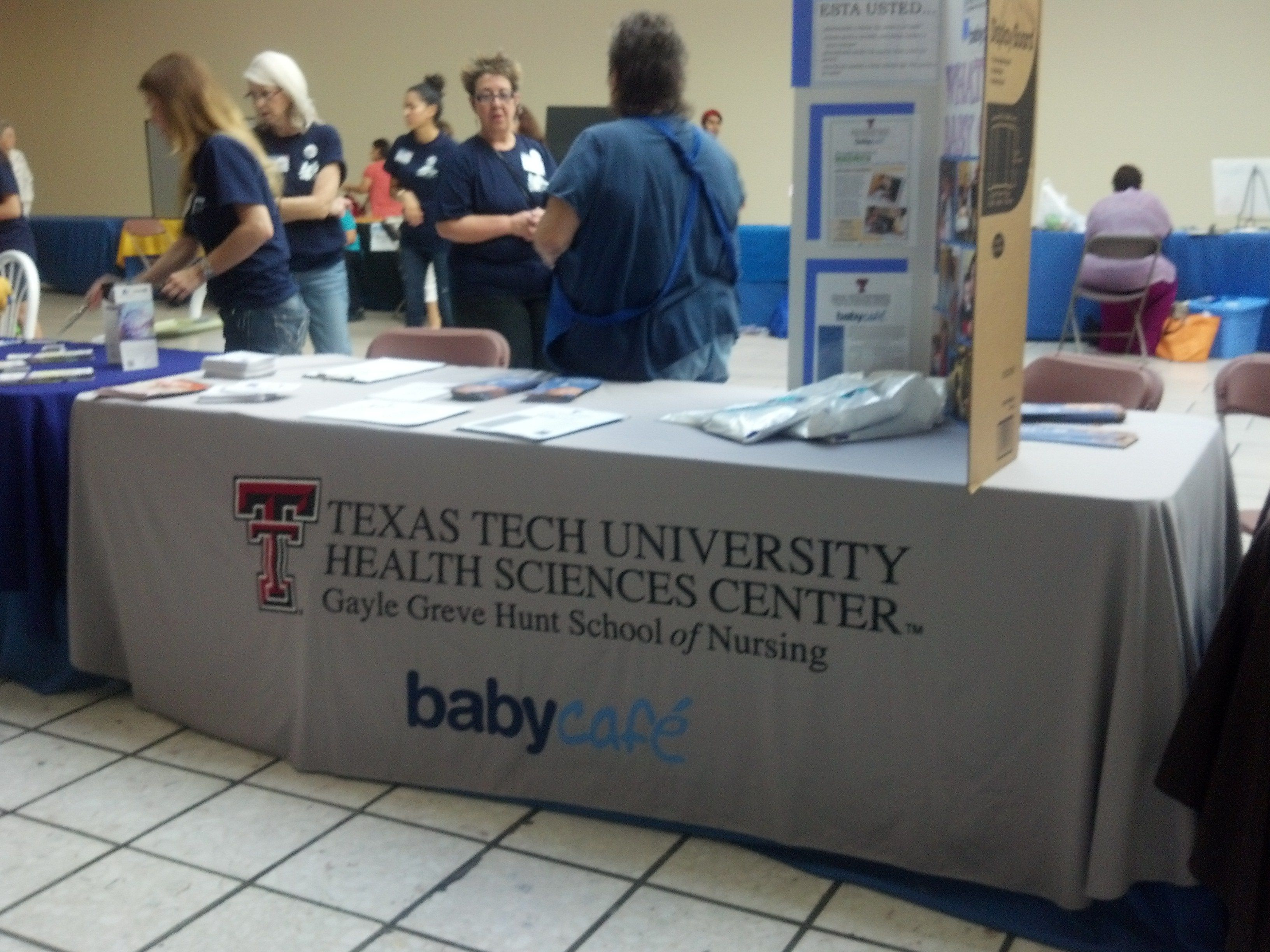 Thank You Texas Tech University Health Science Center Gayle Hunt School Of Nursing For Helping Out Health Science Texas Tech University Nursing Students