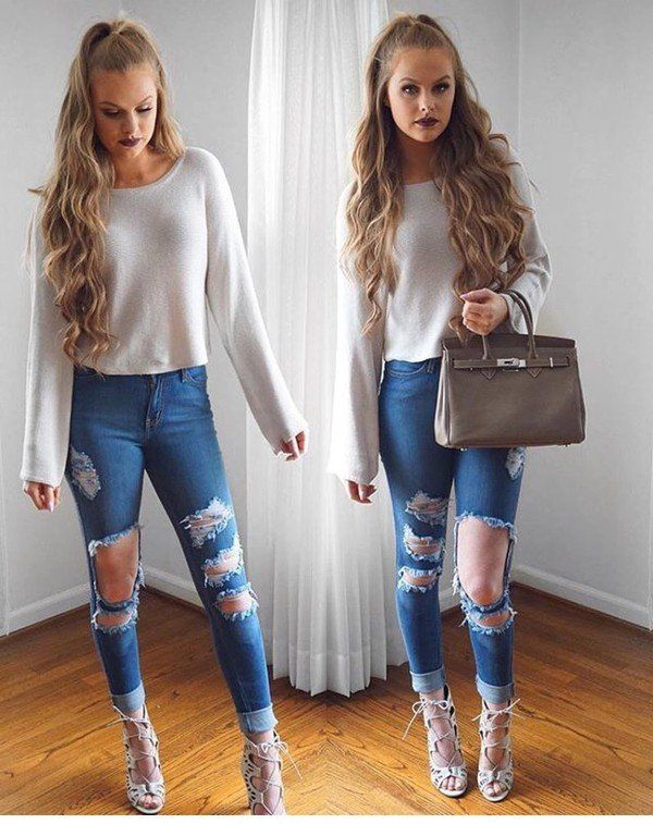 7187d2caf15 Girls Casual Club Attire-30 Best Casual Outfits for Clubbing